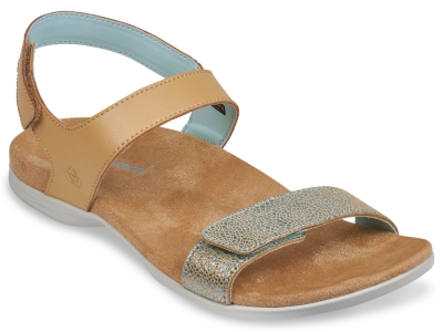 WOMEN'S MILAN SANDAL  TAN