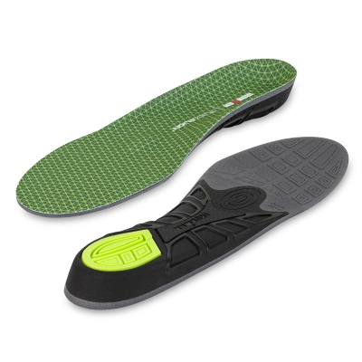 Lót giày Ironman Flexalign support insole Green